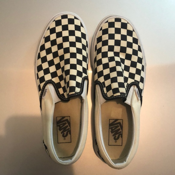 Vans Shoes - Checkered Vans